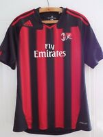 Adidas AC Milan Home Serie A Football Soccer Shirt Camiseta Maglia Climacool