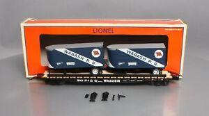 Lionel 6-27820 Wabash PS-4 Flatcar with Piggyback Trailers EX/Box