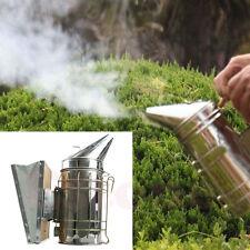HOT SALE  Bee Hive Smoker Galvanized Sheet With Heat Shield Beekeeping Equipment