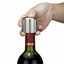 Stainless Steel Reusable Vacuum Sealed Champagne Red Wine Bottle Stopper Cap Hot