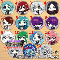 """2.3/"""" T1164  Anime Land of the Lustrous badge Pin button Cosplay 5.8CM"""