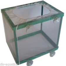 Aqua Nova Aquarium Fish Tank Breeding Breeder Net Trap Hatchery With Suckers