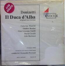 FERNSNDO PREVITALI donizetti il duca d'alba 3 LP Sealed VOCE 33 Vinyl  Record
