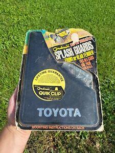 Vintage 1980s Toyota Groboski Plastic Spash Guards Tacoma Corolla Celica Camry