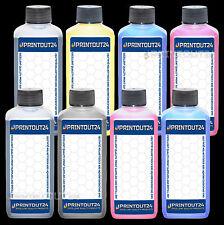 8x1L pigment refill ink for HP 38XL Photosmart B8850 B9100 B9180GP cartridge