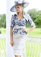 Ian Stuart Mother of the Bride/Groom Outfit with Hatinator Size USA 10/UK 12