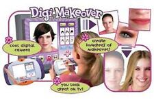Digi Makeover Change Hair Makeup TV plug in Game NEW!!