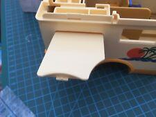 2991 Playmobil Camper Van 3647 Rare Used Lift UP Side door