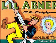 "Li'l Abner Vol 2-1988-Strip Reprints Hard Cover ""Dailies: 1936 """