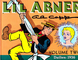 "Li'l Abner Vol 2-1988-Strip Reprints Hard Cover ""Dailies: 1936 """