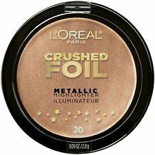 Loreal Crushed Foil Metallic Highlighter Illuminator 20 GILDED GLOW New sealed