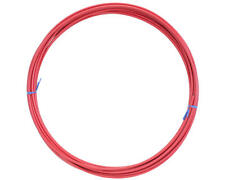 RED SIS BICYCLE BIKE SHIFT SHIFTER GEAR CABLE HOUSING 25 FOOT ROLL 4mm