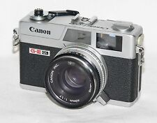 Canon g-III Jur Canonet ql17 1,7/40mm 35 mm Range Finder Camera 24x36 Viseur Caméra