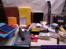 Qty = 122 Pieces Office Supply Mix. Staples, Folders, Post-its, & More See