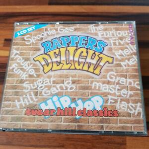 VARIOUS : Rappers Delight - Sugar Hill Classics  FAT  > NM (2CD)