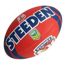 Steeden NRL Roosters Supporter Ball - Size 5 - Rugby League Football