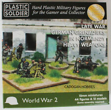 15mm Late German Grenadier Heavy Weapons Normany  - PSC - Flames of War