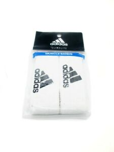 ADIDAS Interval 1-inch Muscle Bands White ( One Size )