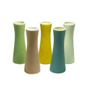 Small Ceramic Vase Set of 5 Modern Design Styles For Home & Office Ornaments