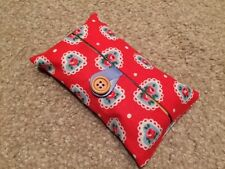 * Handmade Packet Tissue Holder Made With Cath Kidston Sweetheart Rose Fabric *