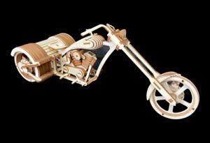Laser Cut Wooden Chopper Trike 3D Model/Puzzle Kit