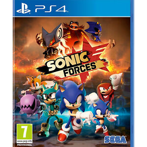 Sonic Forces (PS4) New and Sealed