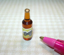 Miniature American Beer Bottle #7 for DOLLHOUSE 1/2 Scale Miniatures