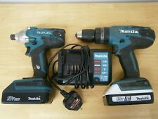 Makita Drill and Impact gun 18v G Series Set.