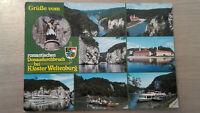 Postkarte Donaudurchbruch Kloster Weltenburg an der Donau gelaufen