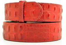 Cinture da uomo rossi Taglia 105 cm