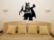 Lego Batman Liga de la Justicia Súper Heroe DC Comics Puerta Pared Pegatina