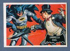 1966 Topps BATMAN (Black) #23 Umbrella Duel *NearMint*