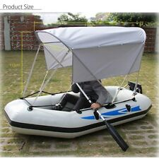 170x100 x110cm AV  Waterproof Bimini Top Boat Cover Canopy For Inflatable Canoe