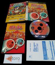 TAIKO NO TATSUJIN TATAKONDE DODON GA DON PS2 PLAYSTATION 2 JAP Namco