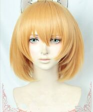 Anime Kemono Friends Project & Kemono Friends Serval short Cosplay costume wig