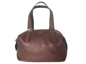 Fossil 1954 Pebble Leather Expandable Convertible Shoulder Bag