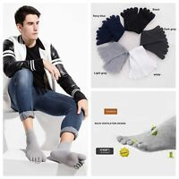 5 Pairs New Men's Women's Socks Pure Cotton Sports Five Finger Socks Toe Socks*