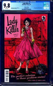 Lady Killer #1 CGC 9.8 2nd Print DARK HORSE Joelle Jones SOLD OUT RARE LOW PRINT