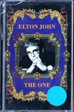MUSICASSETTA ELTON JOHN THE ONE NUOVA SIGILLATA  MUSICAL CASSETTE NEW SEALED