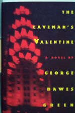 "THE CAVEMAN'S VALENTINE - GREEN - "" SIGNED "" 1ST. EDITION  -  EDGAR WINNER 1994"