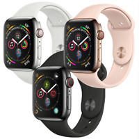 Apple Watch Series 4 40mm GPS Cellular 4G LTE Stainless Steel Gold Black Silver