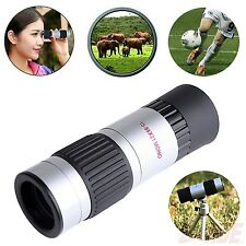 21mm 15-55x Zoom Compact Pocket Monocular Hiking Outdoors Hunt Camping Telescope