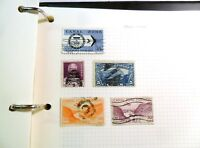 Collection of canal zone Stamps