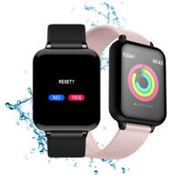 Smartwatch B57 Bluetooth Herzfrequenz Pulsuhr Armband Fitness iOS Android Huawei