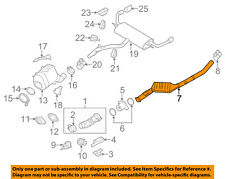 BMW OEM 09-13 X5 3.0L-L6 Exhaust-Intermediate Pipe 18308509753