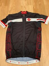XL Mens Castelli Rosso Corsa S/S Cycling Jersey Top Bargain 99p start !!!