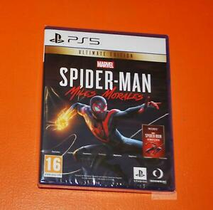 Marvel's Spider-Man Miles Morales Ultimate Edition  PS5 New and Sealed