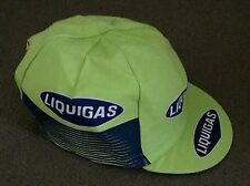 Retro Liquigas 2007 Pro Cycling Team vintage cotton cap
