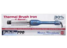 """BABYLISS BABYLISSPRO Nano Titanium 1"""" Thermal Brush Iron – BABNT100HC"""