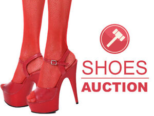 Sexy Red High Heels shoes from Pleaser - size 37